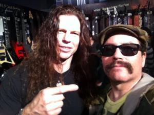 Chris Broderick from Megadeth.